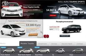 Toyota Yaris-Toyota Rav 4-Toyota Land cruiser Braila
